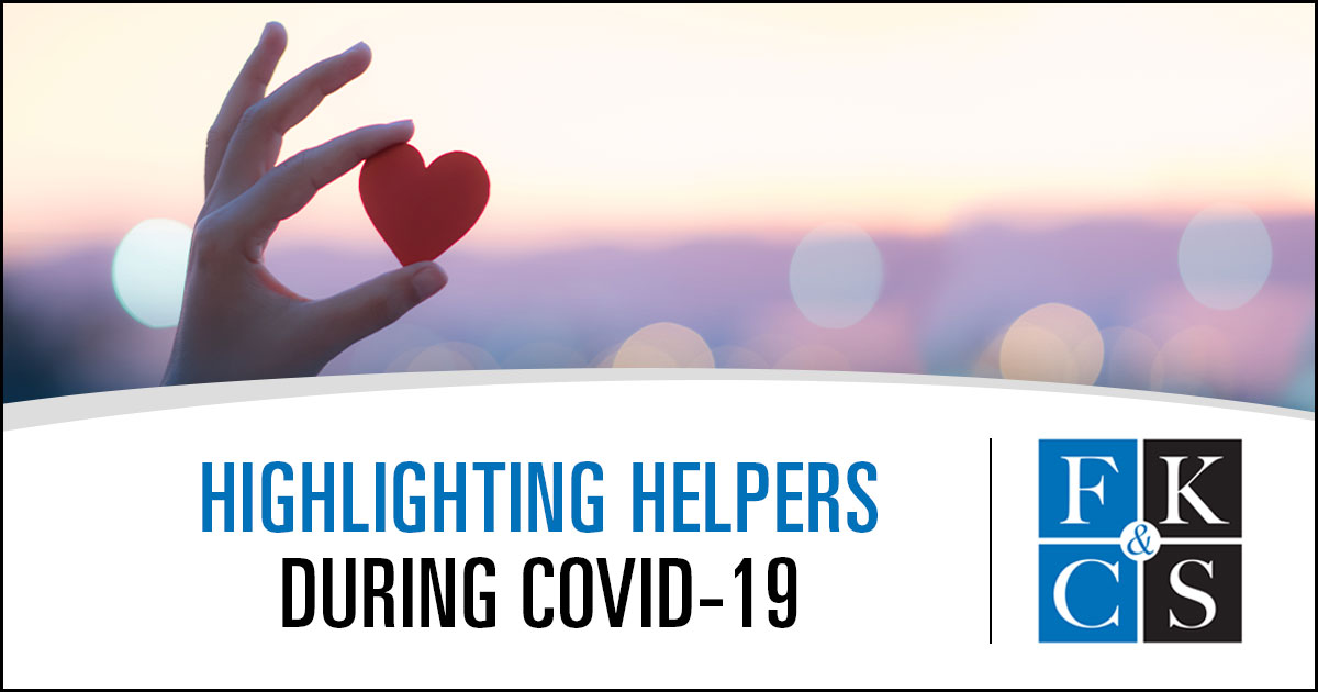 Highlighting Helpers During COVID-19