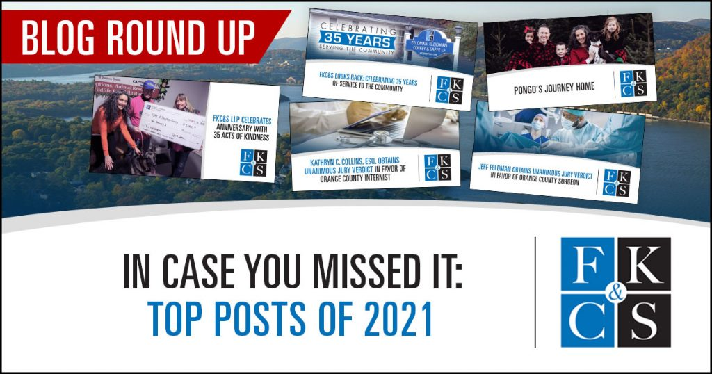In Case You Missed It: Top Posts of 2021 | FKC&S LAw